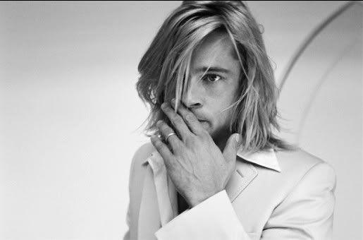 Brad Pitt by Tony Duran: Bradley Pitt, Beautiful Men, Pitt Actors, Long Hair, Young Brad Pitt, Brad Pitt Movies, Brad Pitt Hair