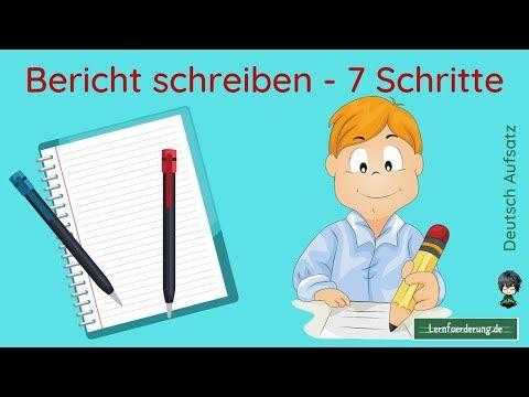Bericht Schreiben In Einfachen 7 Schritten Bericht Fur Die Schule Checkliste Bericht Youtube In 2021 Hauptschule Praktikumsbericht Schule