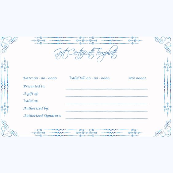 Gift certificate for Word Gift Certificate Templates Pinterest - how to word a gift certificate