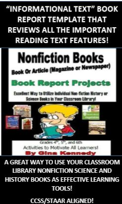 Nonfiction science book report
