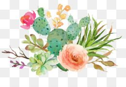 Flowers Png Flowers Transparent Clipart Free Download Watercolour Flowers Wedding Invitation Wat Free Watercolor Flowers Cactus Illustration Flower Clipart
