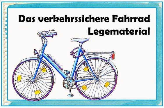 """Sachunterricht in der Grundschule: Legematerial """"Das verkehrssichere Fahrrad"""""""