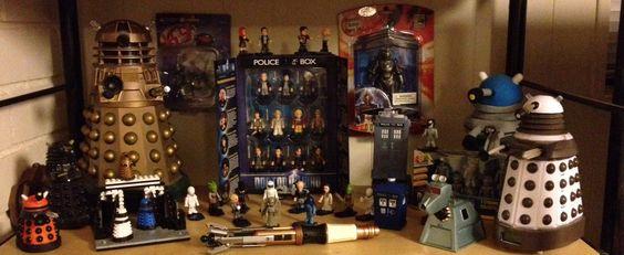 My Doctor Who shrine.