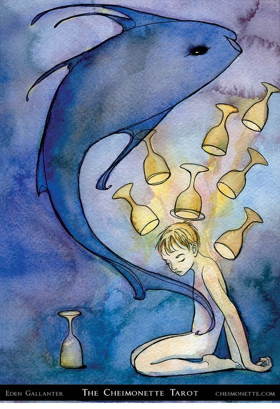 Eight of Cups - Cheimonette Tarot