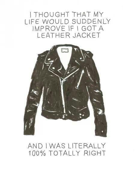 #leather #coat