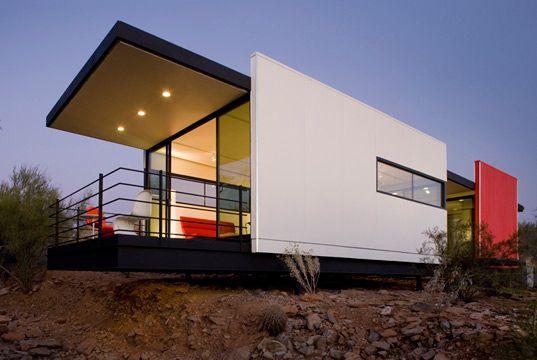 MOD.FAB: Stunning Prefab by the School of Frank Lloyd Wright - Green Design Will Save the World