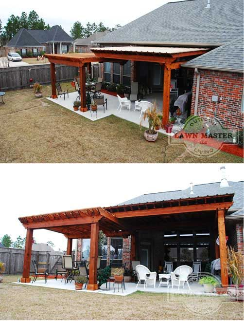 Lawn Master Outdoor Living : Lawn Master Pergola  Landscaping  Pinterest  Outdoor ...