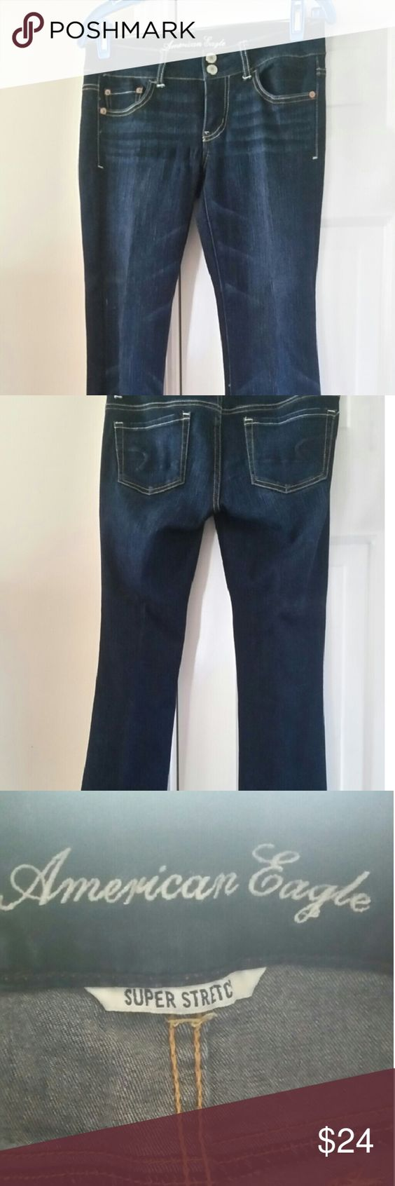 American Eagle jeans New Ameican Eagle jeans super stretch Artist. Offers welcome!! American Eagle Outfitters Jeans