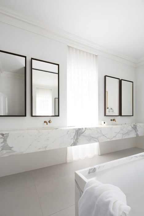 Design salle de bains salle de bains minimale and luxe for Architecture minimale