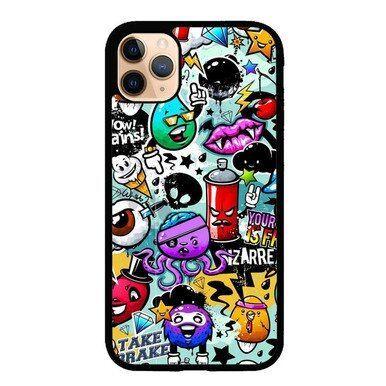 Zhc Art Iphone 11 Case Doodle Art Iphone