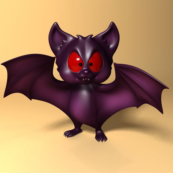 3D Model Cartoon Bat RIGGED and Animated | Cartoon Character 3D Models | supercigale - 3D Squirrel