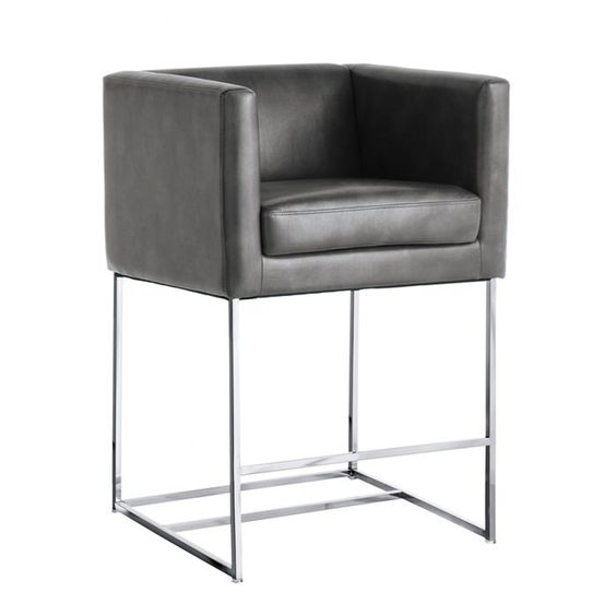 "Lieber 26"" Bar Stool with Cushion"