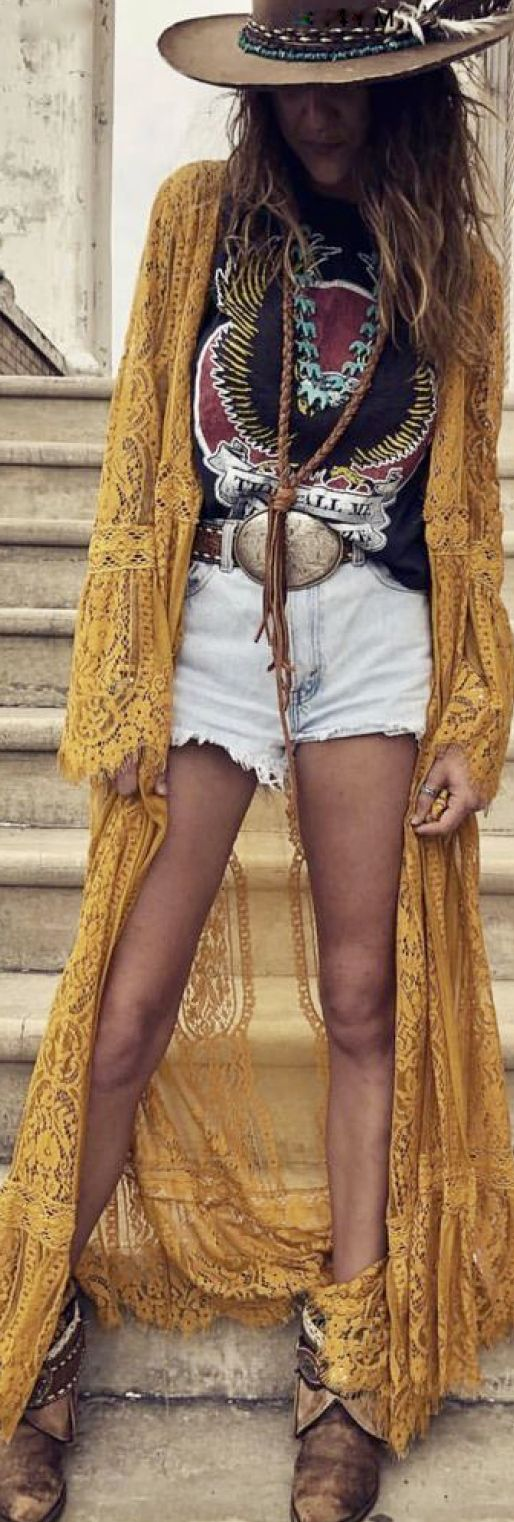 bohemian cowgirl style