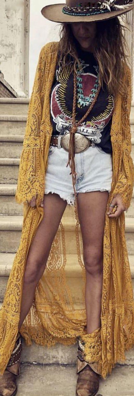 bohemian cowgirl style