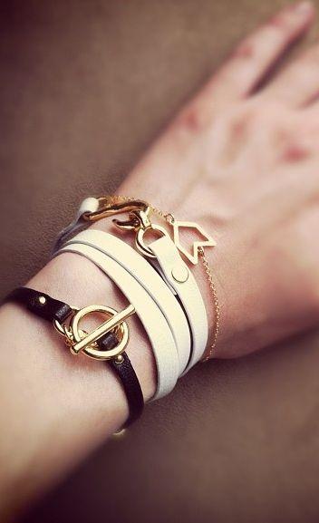Wrap bracelets: