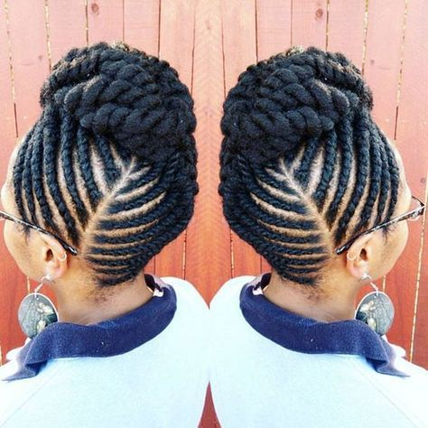 19++ Weaving hairstyles for natural hair ideas
