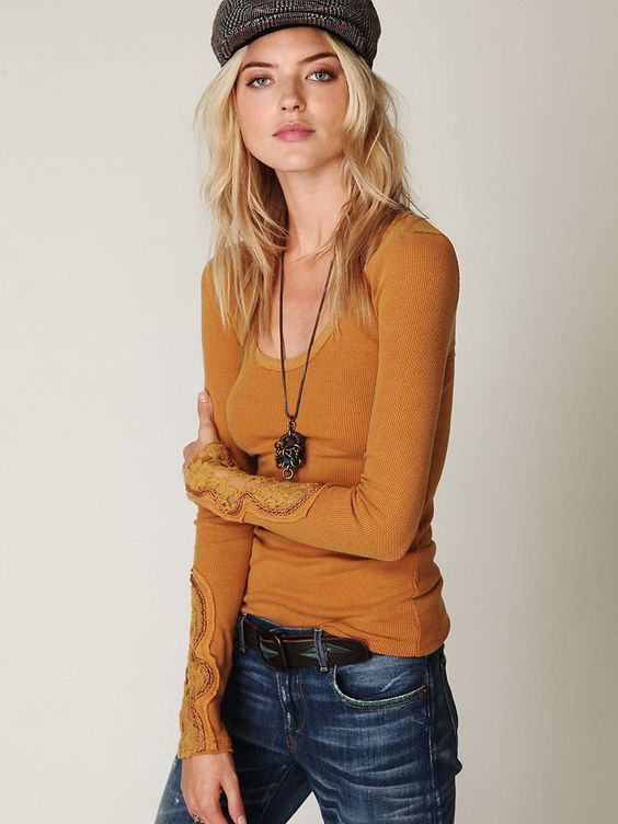 Free People Crafty Cuff Thermal, $68.00