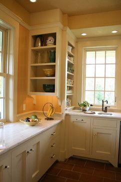 Kitchen open kitchen snug Design Ideas, Pictures, Remodel and Decor   Awkward corner
