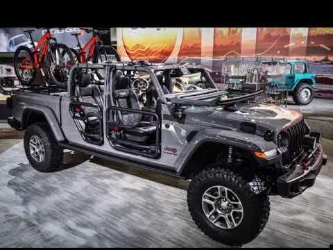 2020 Jeep Gladiator Accessories Mopar Youtube Jeep Gladiator Jeep Mopar