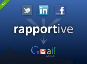 Cómo usar Rapportive para conocer mejor la vida social de tus contactos