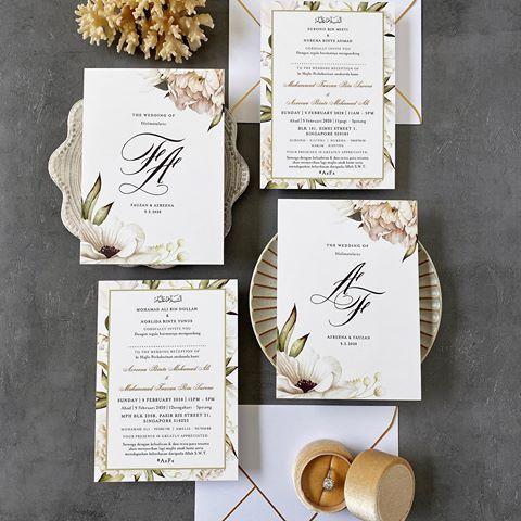 Kad Kahwin Wedding Invitations Elloprops Instagram Photos And Videos Wedding Invitations Kad Kahwin Invitations