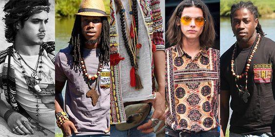 men's ethnic bohemian style