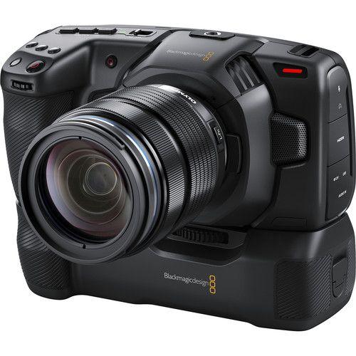 Blackmagic Design Pocket Cinema Camera 6k 4k Battery Grip Cinema Camera Sony Camera Camera Batteries