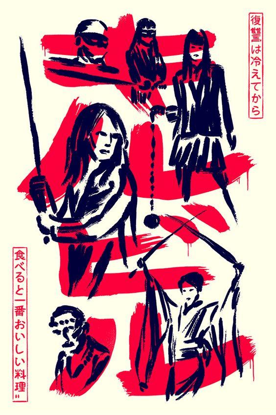 Revenge is a Dish Best Served Cold - Matt Chase | Design, Illustration