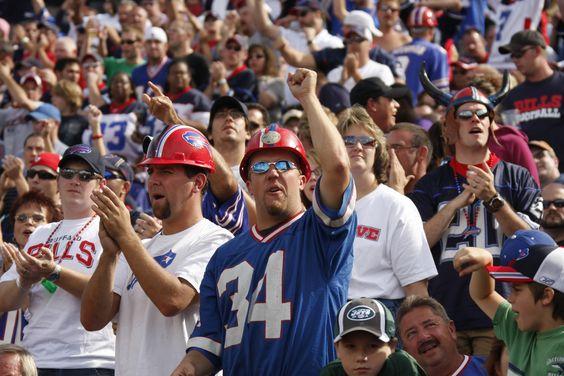 Buffalo Bills fans #Fandemonium
