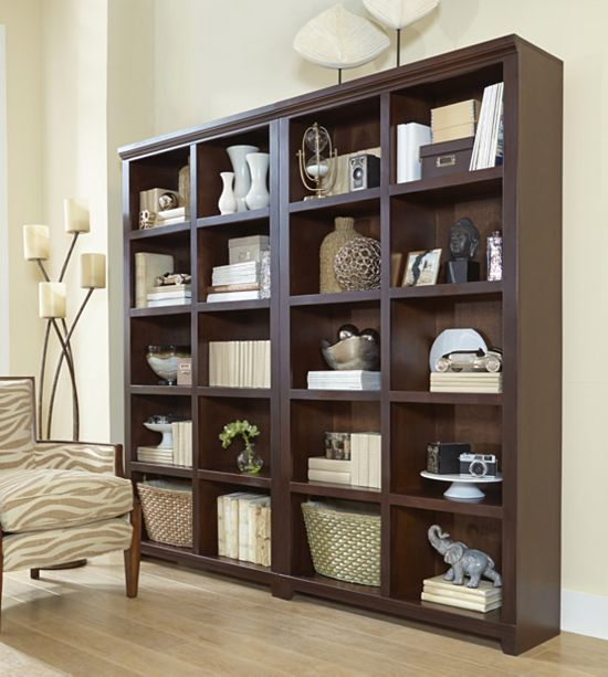 Home Offices, Elway Bookcase   49in Triple, Home Offices | Havertys  Furniture | Library | Pinterest | Bookcases, Furniture And Home Office