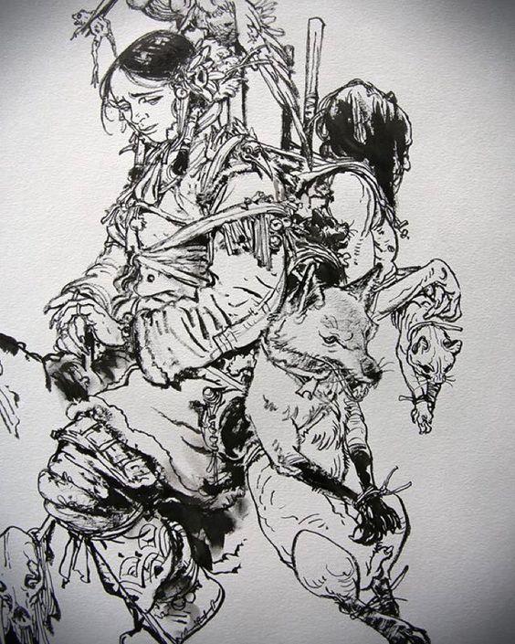 Drawing show at St-Malo #kimjunggi #drawing #illustration by kimjunggius