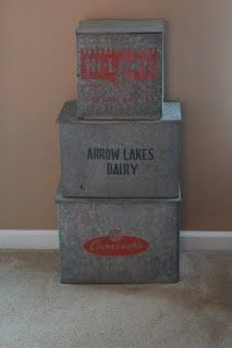 antique milk cooler boxes on the front porch for the milk man to leave your milk order in. Black Bedroom Furniture Sets. Home Design Ideas
