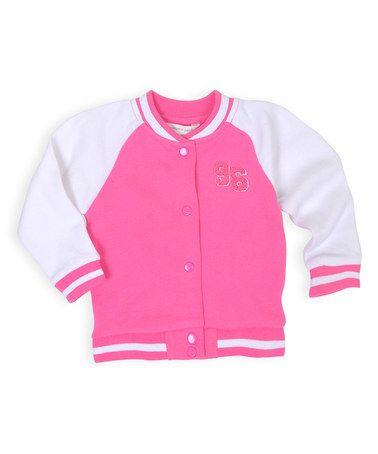 Wild Orchid Baseball Jacket - Infant &amp Toddler | Baseball Jackets