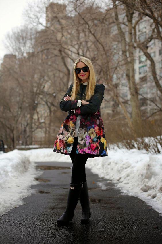Lekcja noszenia kaloszy z Atlantic Pacyfic!  Więcej na Moda Cafe :)