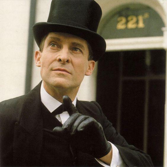 Jeremy Brett as Holmes