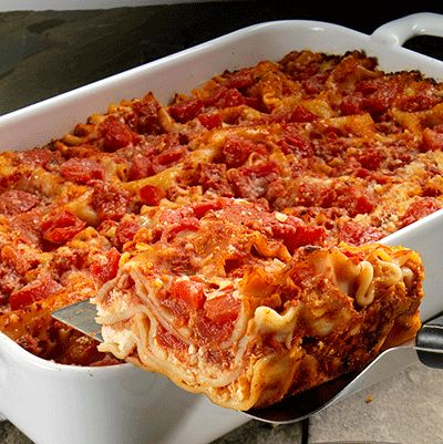 Traditional lasagna recipes and chicken lasagna on pinterest for Different kinds of lasagna recipes