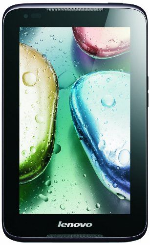 nice Lenovo A1000 7-inch Tablet (Black) - (MTK 8317 1GHz Processor, 1GB RAM, 16GB eMMC, WLAN, BT, GPS, Webcam, Android 4.2)