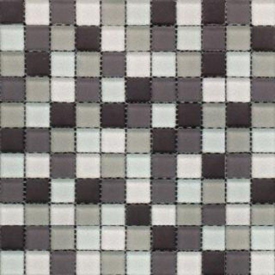 Myrtle 12x12 Cedar Break Frosted Glass Mosaic 1x1 Tiles Mosaic Glass Glass Mosaic Tiles Mosaic Tiles