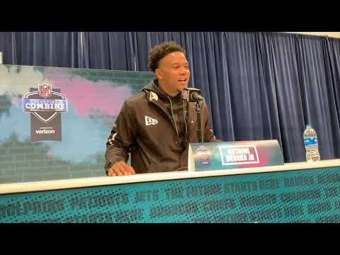 Bench Press Nfl Combine Highlights Prospect Interviews In 2020 Nfl Scouting Combine Nfl Bench Press