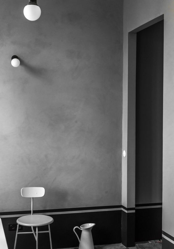 lovely interiors: raw black | Nuance Design | LindyJacoby.com