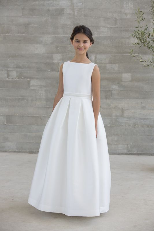gran descuento calidad confiable la compra auténtico Vestido de comunión satén Amaya   Primera Comunion ...