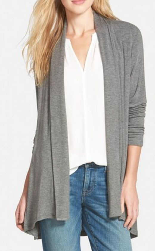 Love this super soft long cardigan