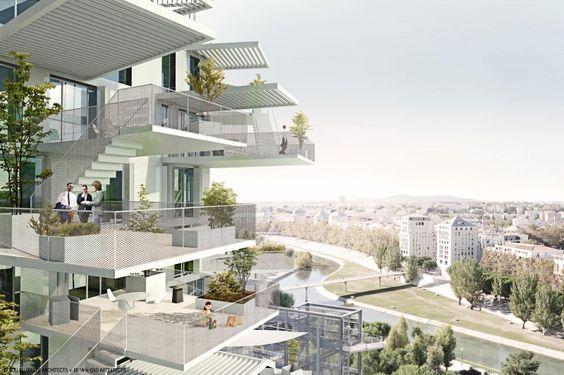 OXO Architectes - TOUR MIXTE A MONTPELLIER , FRANCE