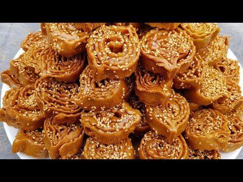 شباكية على اصولها مع طريقة سهلة في التشباك شباكية مغربية حلويات رمضان معسلات رمضان شهيوات رمضان Youtube Food Desserts Breakfast