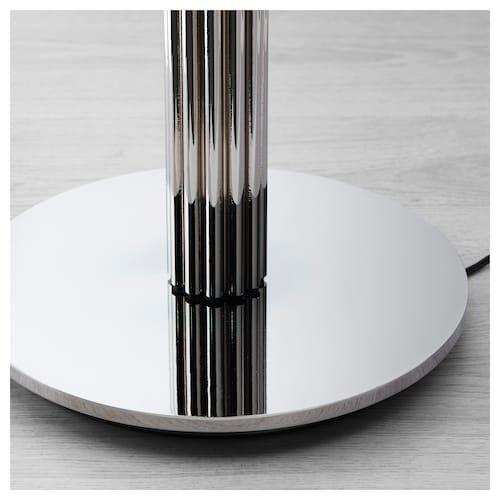 Hovnas Standleuchte Verchromt Schwarz Verchromt Ikea Deutschland Standleuchte Stehlampe Und Led