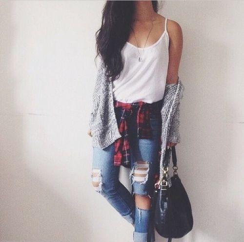 tumblr jean outfits - Buscar con Google