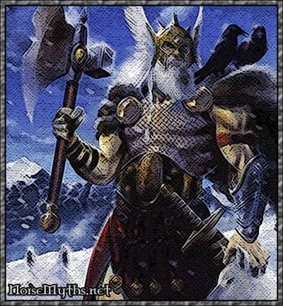 the legend of odin