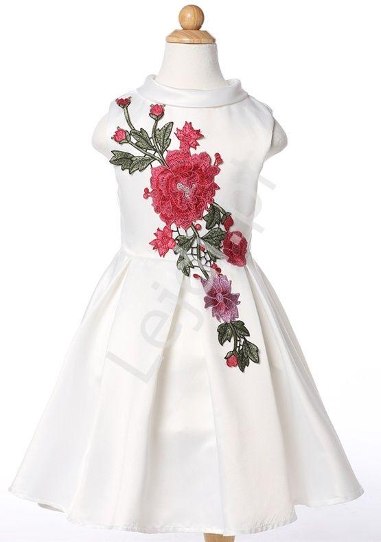 Sukienki Tanie Sklep Online Sukienka Wiosna 2015 Sklep Z Sukienkami Mlodziezowymi Online S Kids White Dress Girls Formal Dresses Wedding Dresses For Kids
