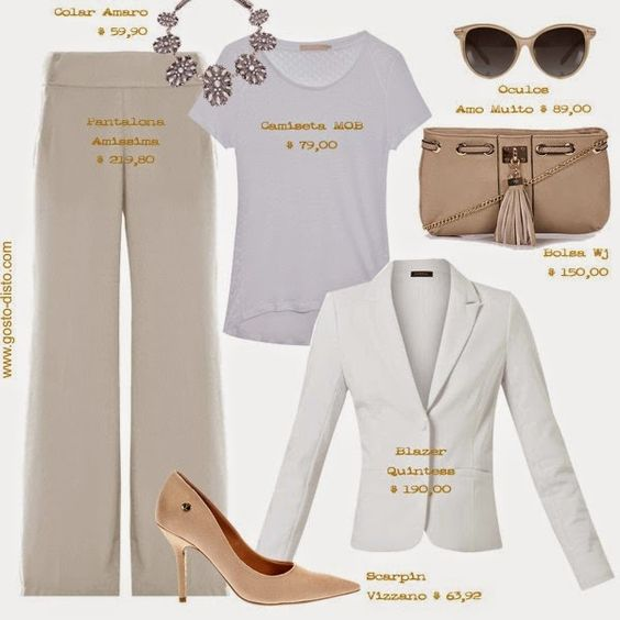 Look todo branco - Look total white - All white outfit