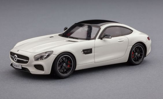 The Mercedes-Benz AMG GT, for fans of raw horsepower. 1:43-scale model car by Spark, available now at Model Citizen.